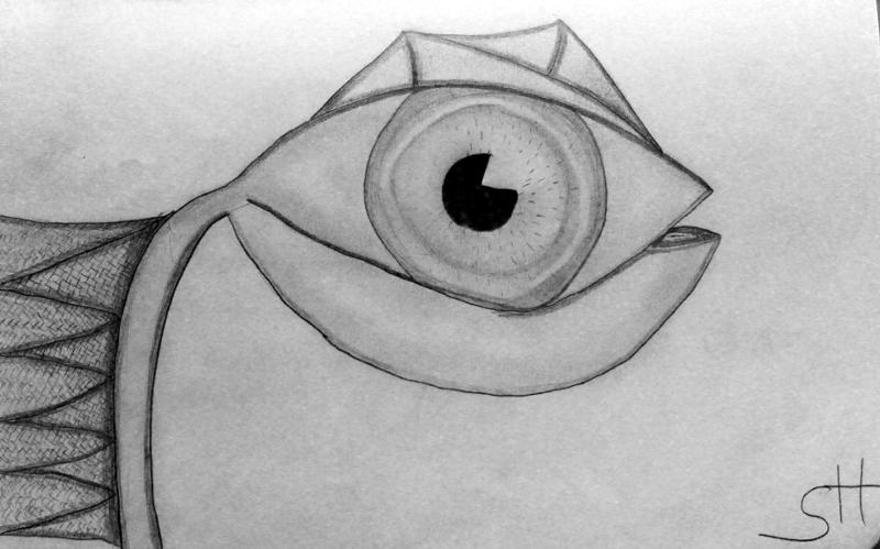 Eine weitere Zeichnung die ich auf dem PCT gezeichnet habe