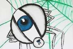 Augenspinne
